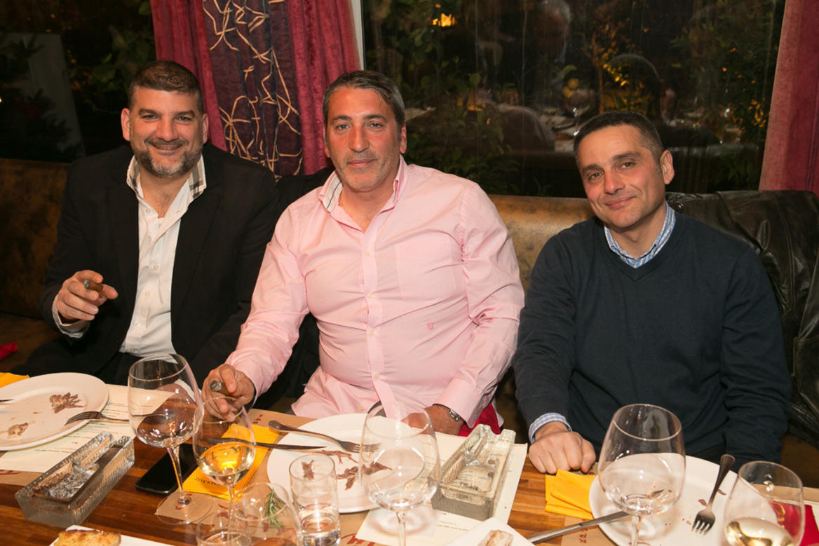 cigar-dinner telemachos | The Food & Leisure Guide