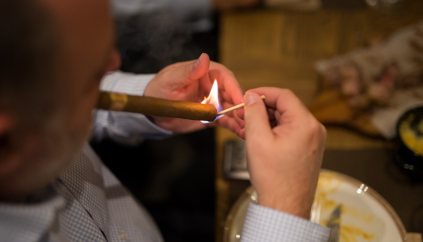 cigar dinner bralos | The Food & Leisure Guide