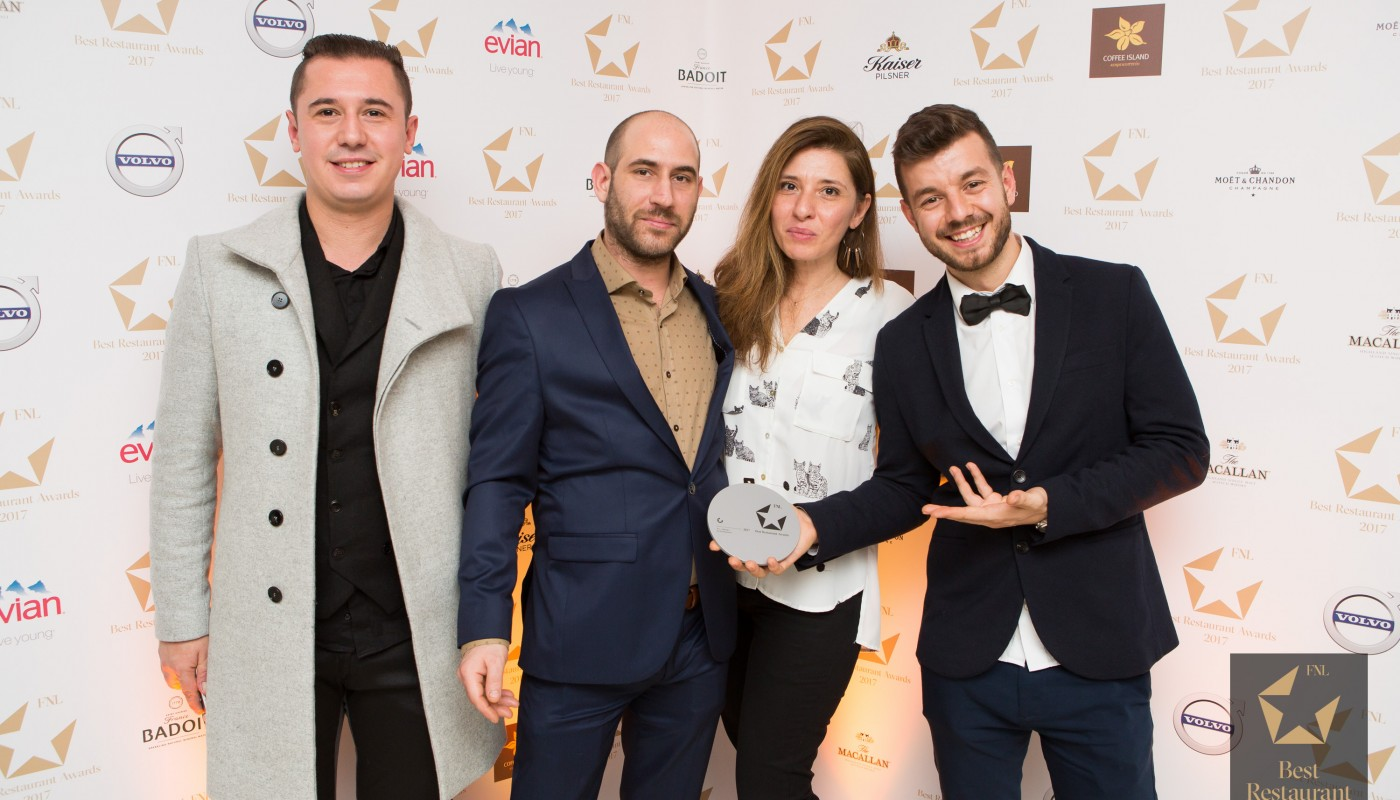 FNL Best Restaurant Awards 2017 the event | The Food & Leisure Guide