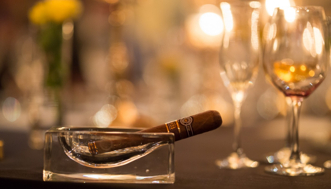 ghost cigar dinner | The Food & Leisure Guide