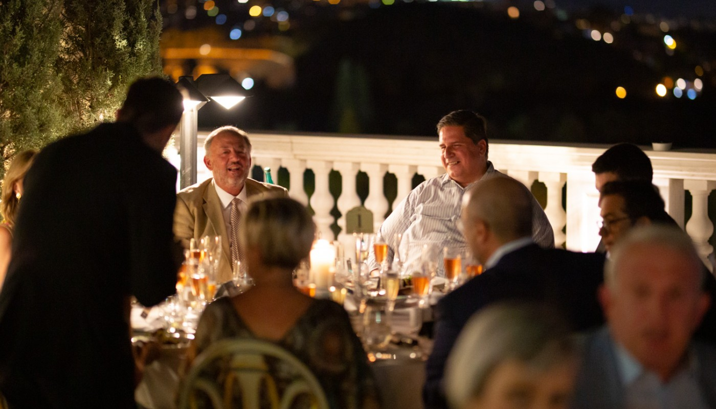 champagne dinner king george | The Food & Leisure Guide